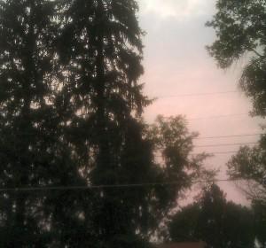 Smoke in an Orange Sky